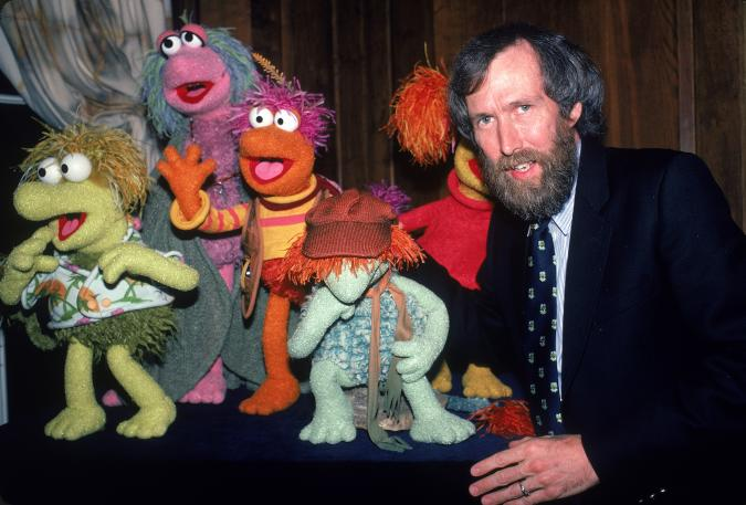 American film & televison director and puppeteer Jim Henson (1936 - 1990) poses with several of his Fraggle Rock muppets, 1983. (Photo by Ann Clifford/DMI/The LIFE Picture Collection via Getty Images)