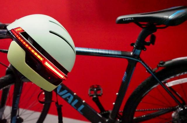 You'll look like 'Robocop' with this smart cycling helmet