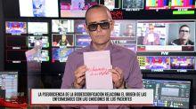 Risto Mejide hunde el mensaje biodescodificador de Paz Padilla