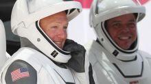 Deux astronautes américains de la capsule SpaceX sont en route pour leur retour sur Terre