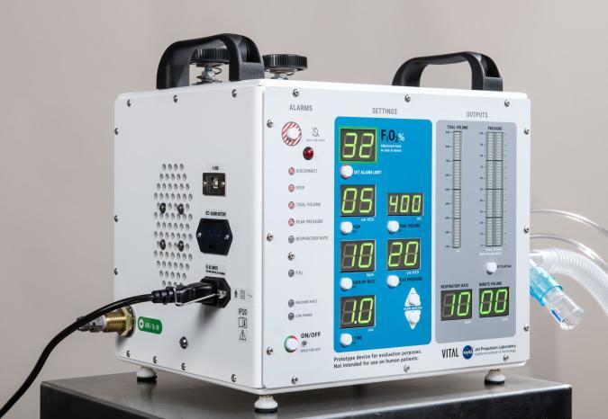 NASA's JPL-developed VITAL ventilator
