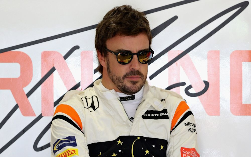 Fernando Alonso has complained of the lack of power in the McLaren - Getty Images Europe