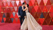 Estos famosos llegaron a los Oscar 2018 muy bien acompañados