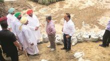 Punjab floods: Deepest breach in Sutlej near Ludhiana village repaired