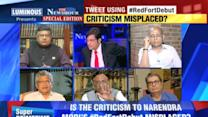 Debate: Criticism misplaced? - 2