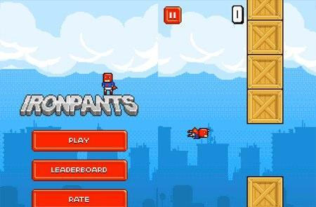 Ironpants is the only Flappy Bird clone worth a damn, and not even a very big damn
