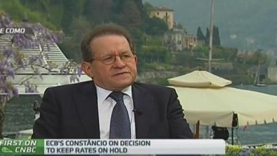 Inflation has reached bottom: ECB's Constancio
