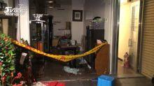 疑電熱水器爆炸 室內玻璃全碎1人小腿劃傷