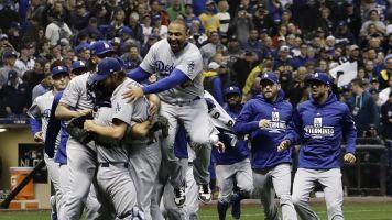 Dodgers derrotan 5-1 a Cerveceros y avanzan a Serie Mundial