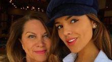 Eiza González presume a su guapa madre, quien era una famosa modelo