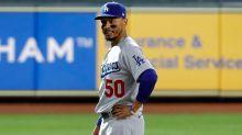 Betts suffers finger injury in Dodgers' win