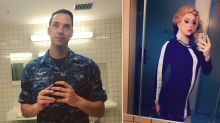 Navy drag queen Harpy Daniels slays on ship: 'Serving my country by day, serving looks by night!'