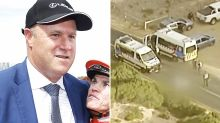 Melbourne Cup-winning trainer charged over horrific fatal crash