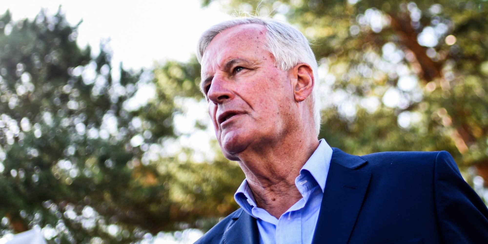 INFO EUROPE 1 - Congrès LR : Barnier revendique 500 parrainages, comme Bertrand