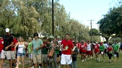 Kapiolani Park Holds 20th Annual Aids Walk
