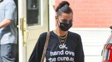 Bella Hadid fait passer des messages engagés grâce à ses tenues