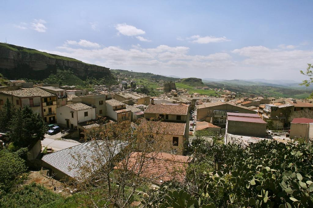 Riina was born in Corleone, a , a vendetta-haunted village and the birthplace of Don Corleone, the fictional Godfather in Francis Ford Coppola's popular movie trilogy
