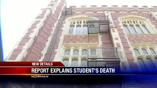 ME: OU student died of blunt force trauma