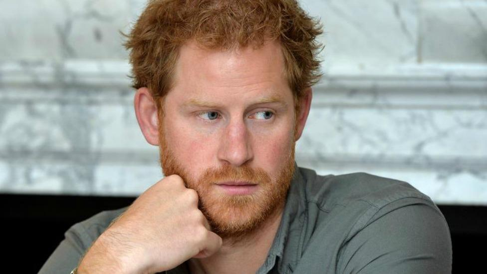 Prince Harry in mourning following death of close friend