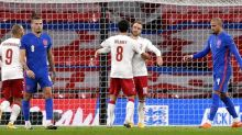 England 0-1 Denmark: Harry Maguire red card costs Three Lions top spot in Nations League battle with Belgium