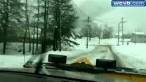 Central Mass. gets hit with nearly half foot of snow