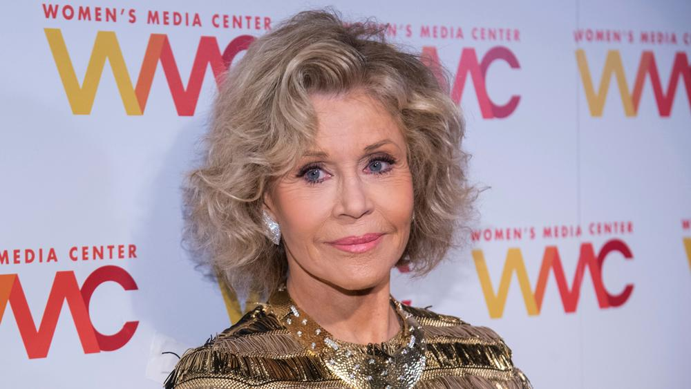 Jane Fonda Compares Donald Trump to 'Hitler and the Third Reich'