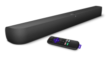 Roku's Smart Soundbar and Wireless Subwoofer pack quality sound and features into an affordable package