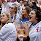 People splash out on food and drink for Euro 2020