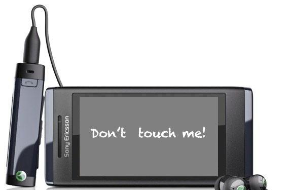 Sony Ericsson acknowledges touchscreen issues on Aino (update)