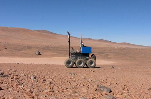 ESA team builds self-piloting rover in six months, tests it in Chilean desert