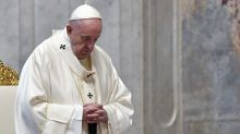 Pope hails priests, health workers as 'the saints next door'