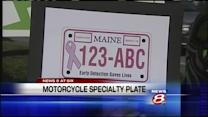Former lawmaker working to create breast cancer motorcycle vanity plate