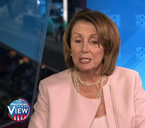 Nancy Pelosi Suggests Trump Is Sabotaging His Own Campaign