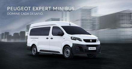 Conheça a Nova Peugeot Expert Minibus