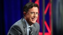 Stephen Colbert Offers 'Late Show' Preview at TCA: 'I Want to Do Donald Trump Jokes So Bad'
