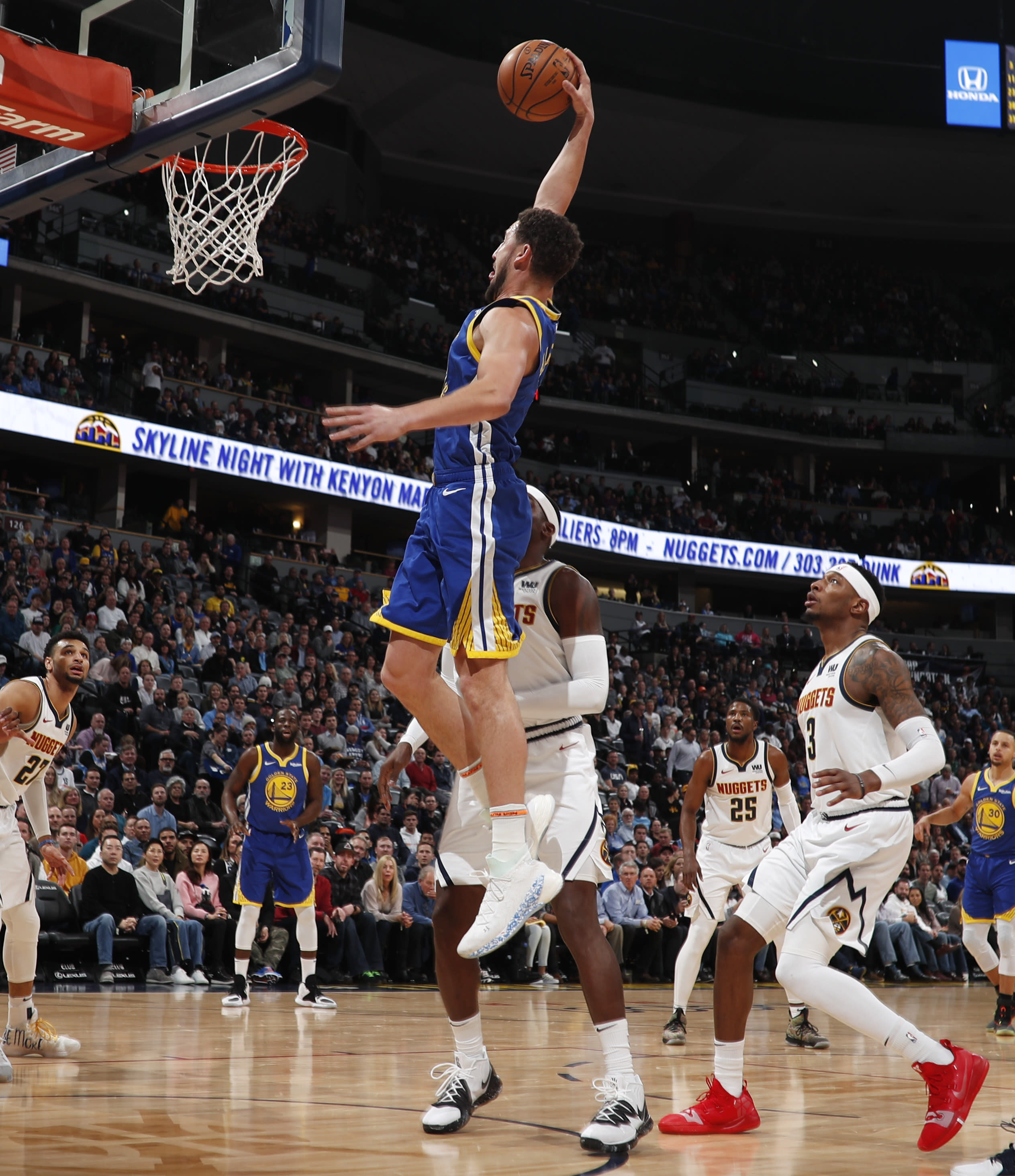 Denver Nuggets Home Record: Warriors Score NBA-record 51 Points In 1st Quarter