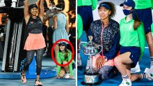 'So wholesome': Naomi Osaka's message to ball kid in viral photo