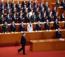 China propaganda kicks into overdrive as 'helmsman' Xi re-anointed president