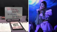 Ariana Grande's Sweetener Tour Features Voter Registration Booths