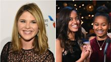 Jenna Bush Hager Posts Sweet Photos Of Giving The Obama Girls A White House Tour