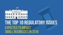 Paychex Identifies the Top 10 Regulatory Issues for Small Businesses in 2018