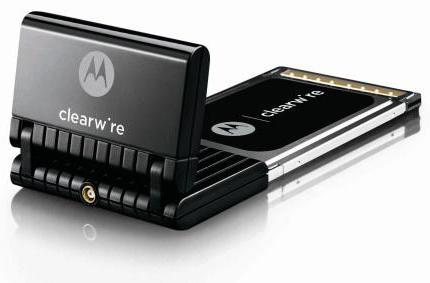Clearwire releases first pre-WiMAX PC card for laptops
