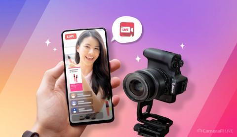 Vault Micro: CameraFi Live, an Android Live Streaming App, Released DSLR Vertical Streaming Feature for Live E-Commerce