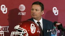 Oklahoma taps Stoops to help with Riley's depleted staff