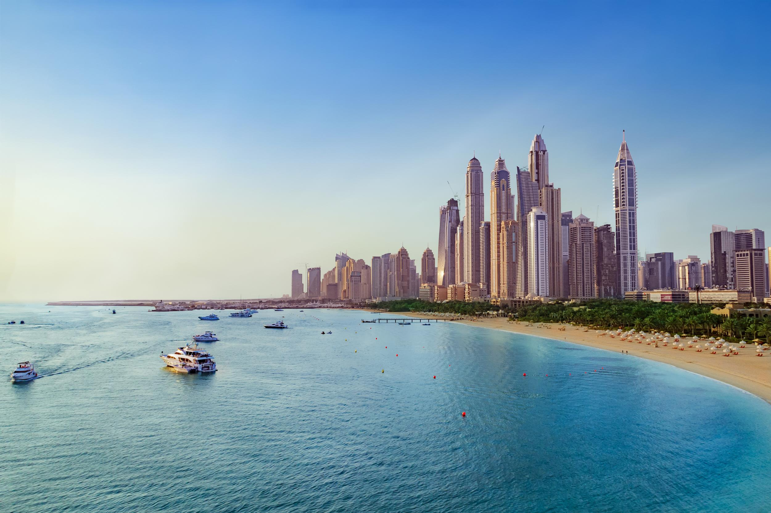 """Dubai is our number one destination for a family beach holiday this year, as it continues to offer glorious sunshine, world-class attractions and plenty to keep both the adults and children entertained. <a href=""""http://www.southalltravel.co.uk/"""" target=""""_blank"""">Southall Travel</a> says Dubai is its most popular long-haul beach destination for 2017, proving that Britons' love for the Middle Eastern hotspot continues. This year has also seen the opening of the highly anticipated <a href=""""https://www.legoland.com/dubai/map-and-explore/water-park-rides-and-attractions/legoland-water-park/"""" target=""""_blank"""">LEGOLAND Water Park</a>, with over 20 water slides, a Build-A-Raft River, Wave Pool and Joker Soaker water playground. <a href=""""http://www.southalltravel.co.uk/Holidays/middle-east/dubai/atlantis.aspx"""" target=""""_blank"""">Southall Travel</a> offers an October half-term holiday to Dubai from £1,505 per person, staying at five-star family favourite Atlantis, The Palm, with flights from the UK and seven nights' half-board accommodation."""