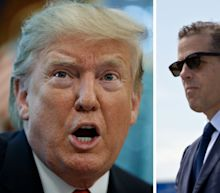 Trump says he hopes 'they release' his call with Ukraine's president, in which he says he talked about Joe and Hunter Biden and 'corruption taking place'