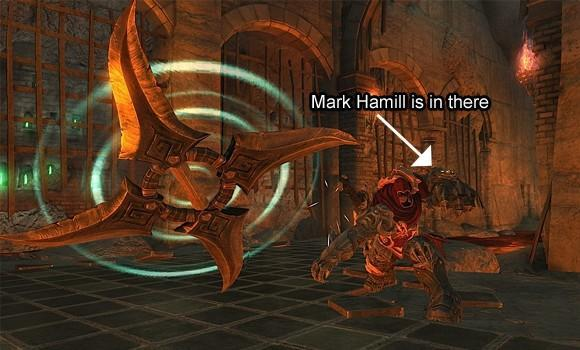 Mark Hamill signs on for Darksiders