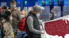 'Bloodbath': Frightening coronavirus map shows US failure