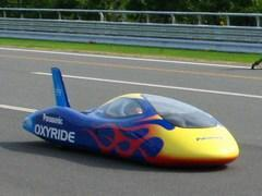 Panasonic's Oxyride vehicle breaks 65mph on AA batteries