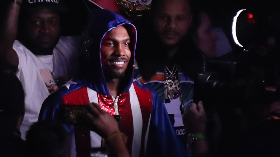 Jermall Charlo lurks in the shadows